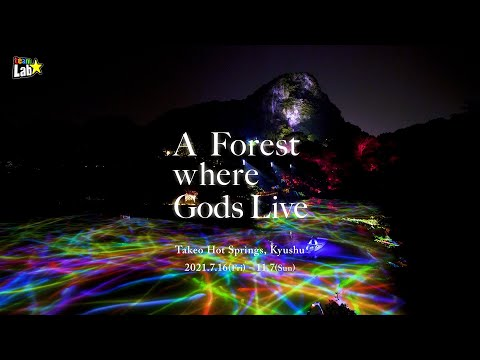 teamLab: A Forest Where Gods Live(2021)