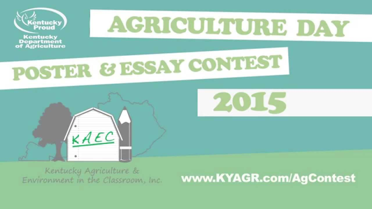 agriculture and environment essay