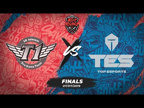 SKT vs TES [Rift Rivals 2019][07.07.2019][Finals]