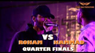 ROHAM VS HAMMAD JADAM | KGL BEATBOX CHAMPIONSHIP | QUARTER FINALS | SOLO BATTLES | PAKISTAN HIP-HOP