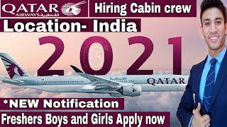 Qatar Airways Cabin Crew Vacancy | Freshers New Jobs at Qatar airways | Jet Airways | Airport Jobs