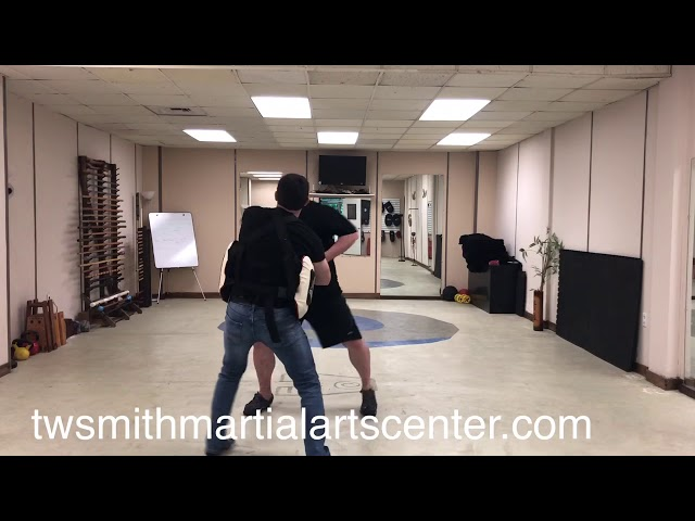 Two Man Drill with Pad