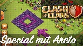CLASH OF CLANS || Special mit Areto-Gaming #1 | Let's Play COC [Deutsch/German HD]