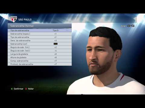 PES 2015 - Edit faces ALAN KARDEC - Xone