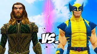 AQUAMAN vs WOLVERINE - Epic Battle