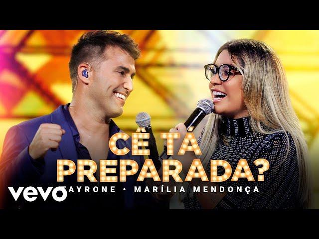 Tayrone - Cê Tá Preparada (Ao Vivo Em Goiânia / 2021) ft. Marilia Mendonça