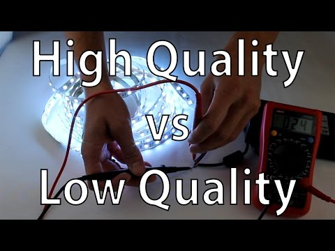 LED Strip Lights - High Quality vs Low Cost RGB LED Tape