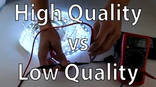 LED Strip Lights - High Quality vs Low Cost RGB LED Tape