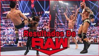 RESULTADOS De RAW 3 De Mayo De 2021 Drew McIntyre ATACA a Bobby Lashley y Braun Strowman