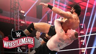 Brock Lesnar And Drew Mcintyre Clash For Wwe Title: Wrestlemania 36  Wwe Network Exclusive