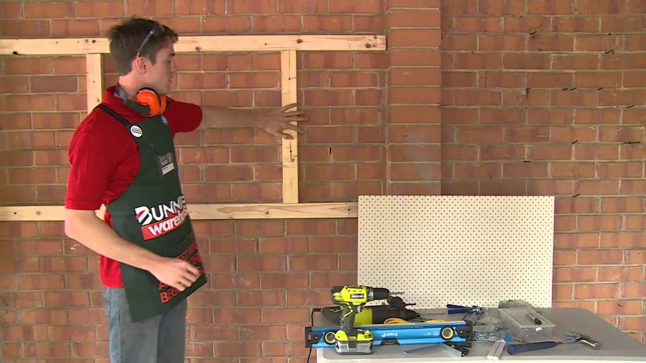 Pin Boards Bunnings How To Build A Peg Board Diy At Bunnings
