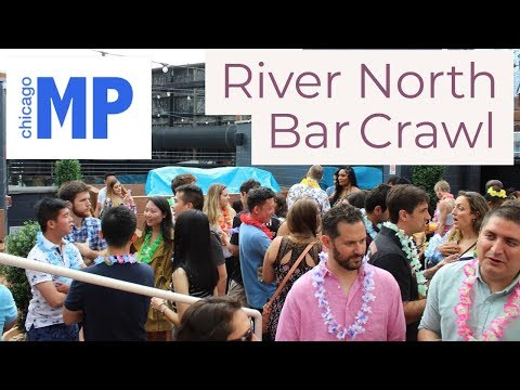 River North Rooftop Bar Crawl | MeetPeopleChicago | Chicago July 2018