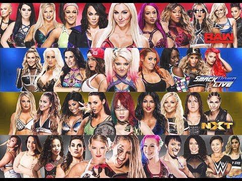 WWE 2K18 ALL DIVAS & WOMAN ENTRANCE