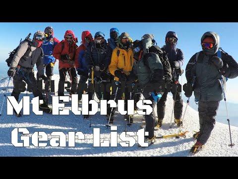 Gear List Fort Mt Elbrus