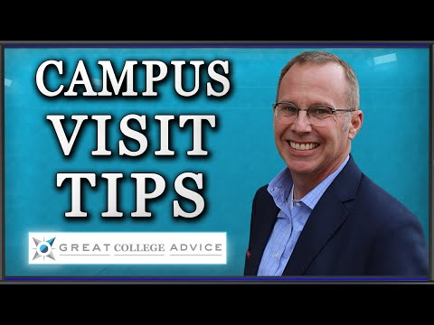 College Admissions Expert Interviews Campus Tour Guide