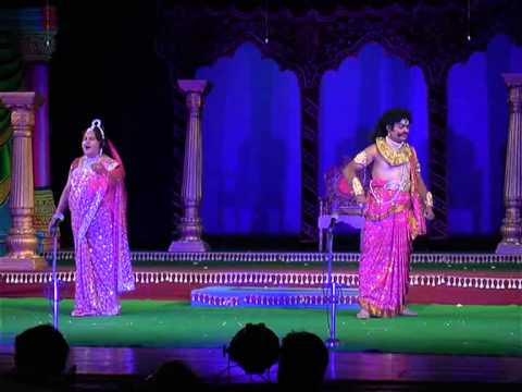 Prachanda Ravana-Acted as Ravana by Jayabore Gowda