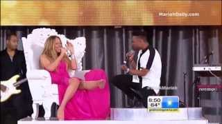 Mariah Carey And Miguel Beautiful Live On Good Morning America