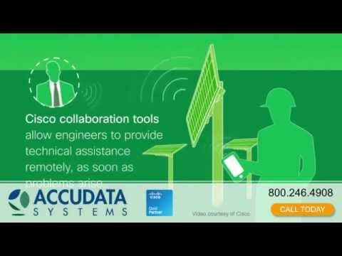 Accudata Cisco Internet of Everything  Powering Tomorrows Possibilities