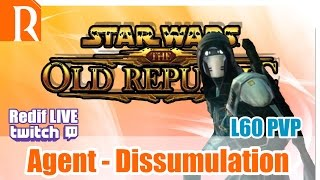 "SWTOR L60 PVP - Agent Dissimulation - "" Couper des jambes c"