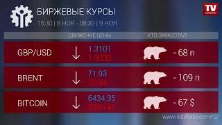 InstaForex tv news: Кто заработал на Форекс 09.11.2018 9:30
