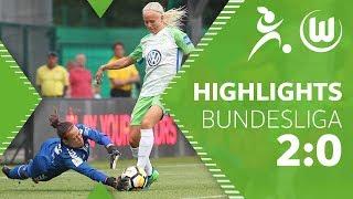 VfL Wolfsburg - SC Freiburg | Highlights | Frauen Bundesliga