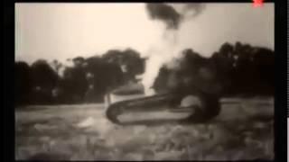 Один советский танк КВ-1 против танковой дивизии немцев