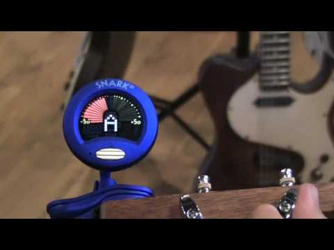 Snark Chromatic Tuner Demo