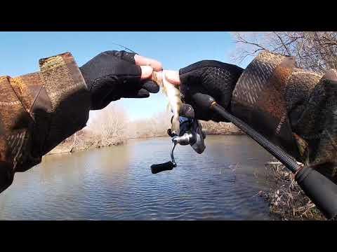 Рыбалка в Рязани. Река Плетёнка. Спиннинг.