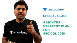 Special Class - 4 Months Strategy Plan for SSC CGL 2018 - Abhinay Sharma