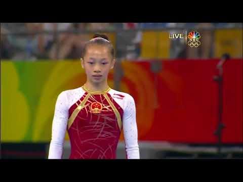 Yang Yilin (2008) to Aliya Mustafina (2016) Floor Music Audio Swap