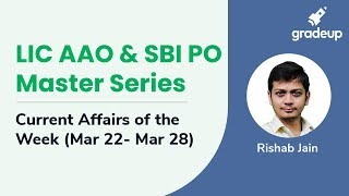 LIC AAO & SBI PO Master Series: March 2019 Week 4 Current Affairs
