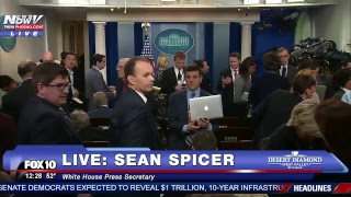 LIVE: White House Press Briefing with Sean Spicer