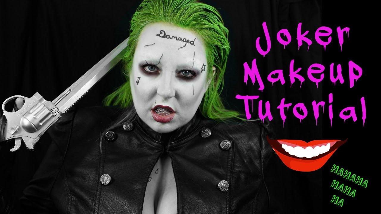 Joker makeup female