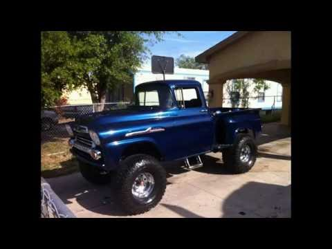 Lifted 58 Chevy Apache