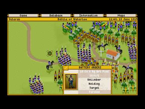 Fields of Glory  2 GAMEPLAY MICROPROSE 1993 DOS