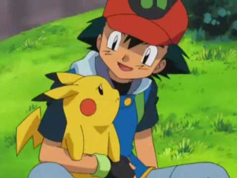 Ash and Pikachu are Crazy In Love - YouTube