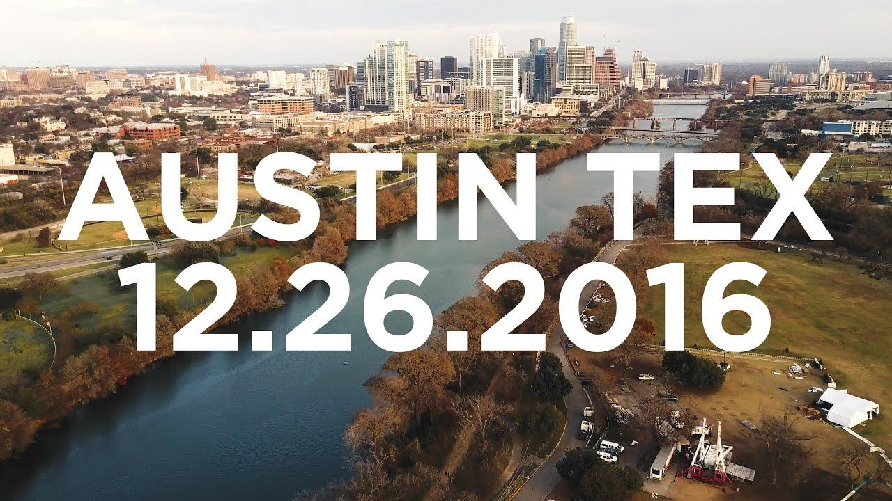 DJI Mavic Pro Vlog | Austin Zilker Park [4K]