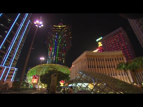 Macau hit by gambling crackdown