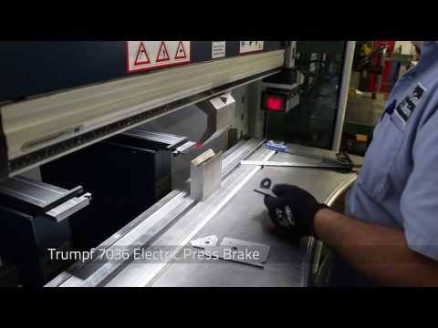 Sheet Metal Forming using Press Brakes