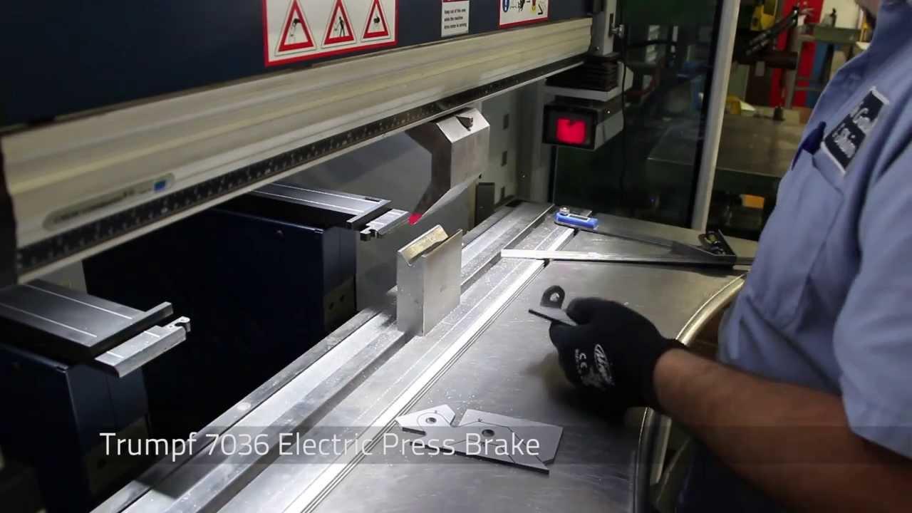 Sheet Metal Forming Using Press Brakes Youtube