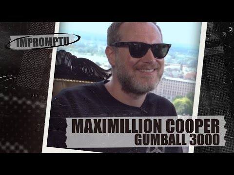 Riga to Mykonos   Interview with Maximillion Cooper, Gumball 3000. Impromptu #Dukascopy