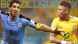 Brazil Vs Uruguay ● World Cup 2018 Qualifier ᴴᴰ