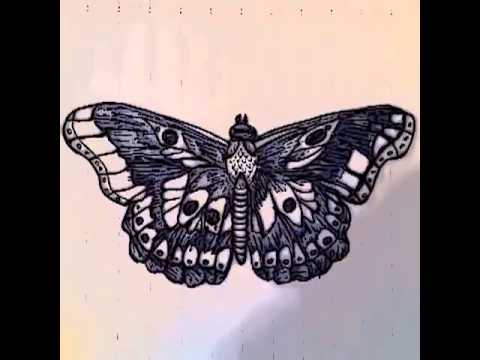 Harry Styles Butterfly Drawing Harry Styles Butterfly