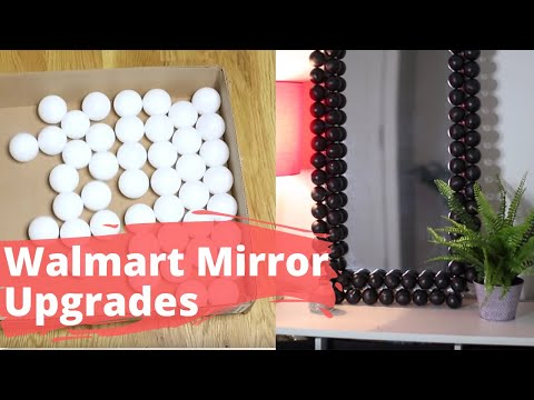 Fake a High-end Mirror With a Cheap One From Walmart
