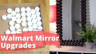 Fake A High End Mirror With A Cheap One From Walmart | Hometalk