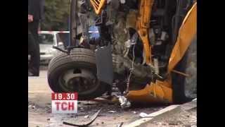 Опубликовано видео с места ДТП в Сумах, где погибли два человека(Ранее
