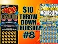 $10 $200 Million Payout vs $10 $1 Million High Roller Texas Lottery Scratch Off Tickets