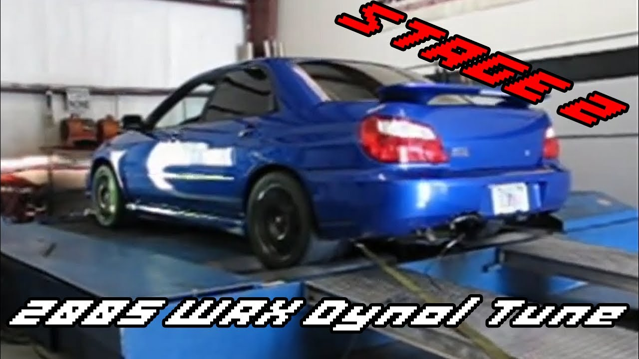 2005 Wrx Dyno Stage 2 Ots Protune Map Youtube
