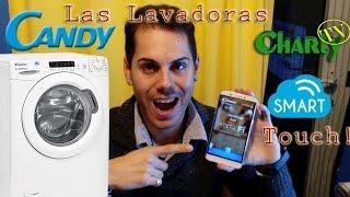 Las alucinantes lavadoras Candy Smart Touch Control con Smartphone