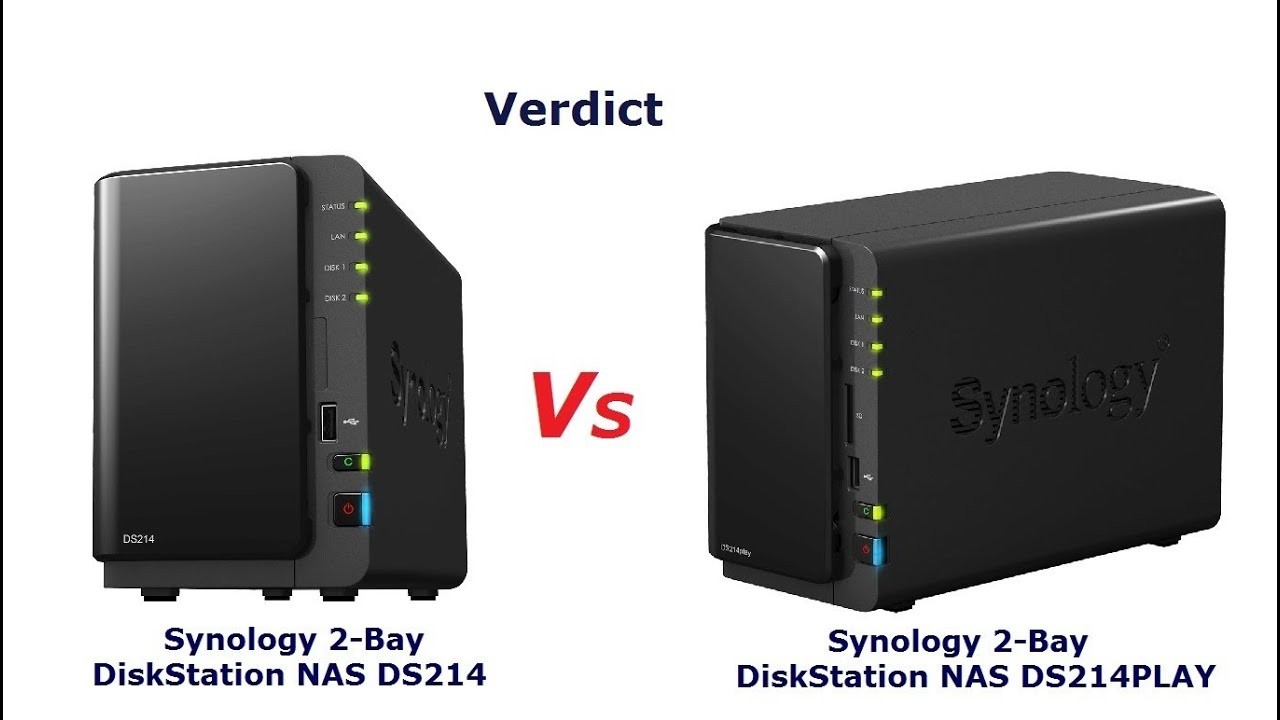 The Synology DS214 vs The Synology DS214PLAY